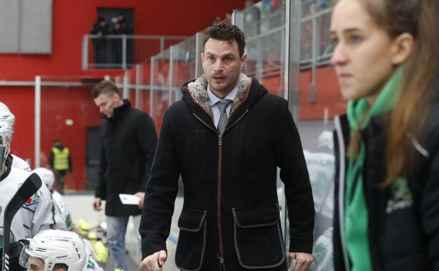 Kaj bo z Gregorjem Polončičem v Olimpiji po zadnjem pripetljaju za spletno stran Hokej TV? FOTO: Leon Vidic/Delo