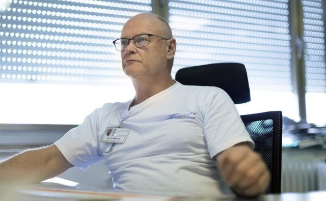 Anesteziolog dr. Tomislav Mirkovič imaveč kot dve desetletji izkušenj z delom v intenzivnih terapijah UKC Ljubljana. FOTO: Osebni arhiv
