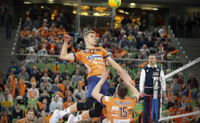 Odbojkarski klub ACH Volley, sedemnajstkratni državni prvak, bo med prvomajskimi prazniki praznoval deseto obletnico igranja na zaključnem turnirju lige prvakov.FOTO: Foto: Jure Eržen
