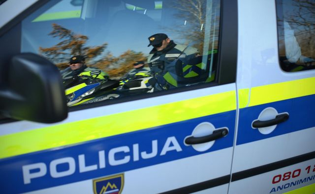 Predaja novih motornih vozil policije. Ljubljana, Slovenija 15.novembra 2016 [policija,policisti,motorna vozila,motorji,vozila,promet] Foto Jure Erzen/delo