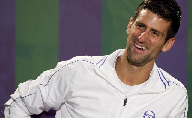 Novak Đoković je nasprotnik obveznega cepljenja. FOTO: Reuters