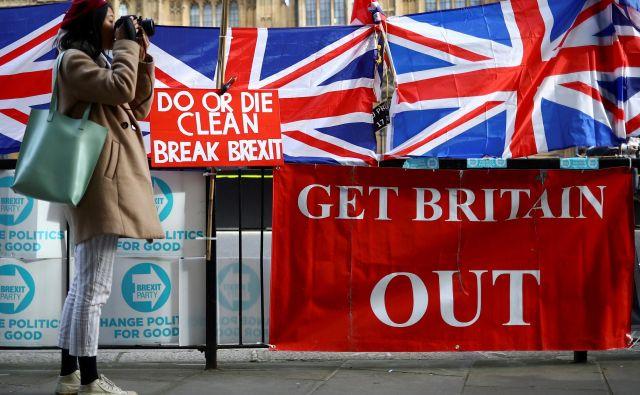 Za Združeno kraljestvo do konca leta še veljajo vsa pravila EU.Foto: Reuters