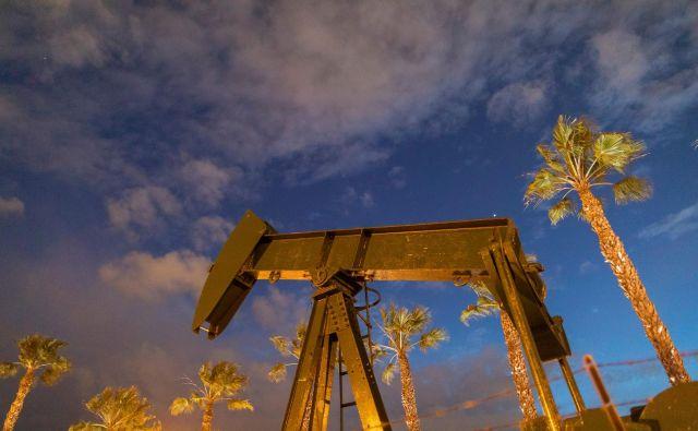 Naftna skladišča še niso bila tako polna. FOTO: David McNew/AFP