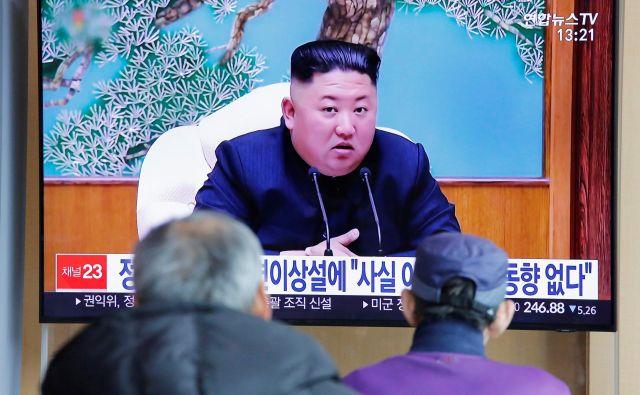 Kim Džong Un se od 11. aprila ni pojavil v javnosti, kar je povzročilo ugibanja o njegovem zdravstvenem stanju. FOTO: Reuters