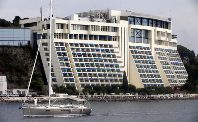 Nekdanji Hoteli Bernardin so se integrirali v Savo Turizem, ta pa je največje premoženje Save. Foto Mavric Pivk