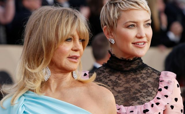 Goldie Hawn in Kate Hudson sta si izjemno blizu. FOTO: Reuters