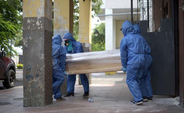 Epicenter izbruha koronavirusa v Ekvadorju je v pristaniškem mestu Guayaquil. FOTO: Reuters