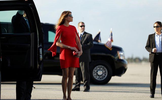 Bo prva dama zgled prihodnjim zakoncem ameriških predsednikov in predsednic? FOTO: Reuters