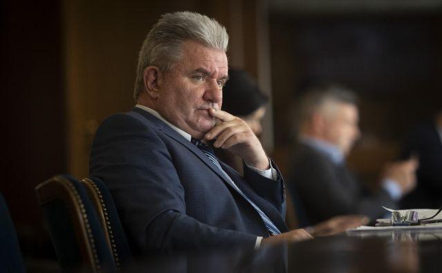 Minister za okolje in prostor Andrej Vizjak. FOTO: Voranc Vogel