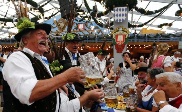 Znameniti bavarski Oktoberfest je letos podlegel virusu korone.<br /> FOTO: Reuters