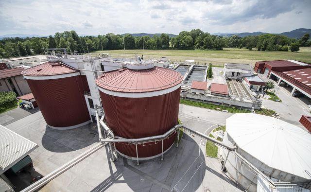 Centralna čistilna naprava Domžale-Kamnik je med povabljenimi k raziskavi, povezani s pandemijo covida-19. FOTO: Klemen Razinger