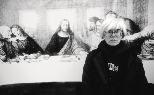 Andy Warhol je komercialne principe vseskozi obenem apliciral, ironiziral in se od njih distanciral. Foto AP