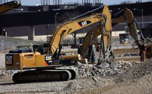 CAT je eden od najbolj prepoznavnih logotipov na gradbiščih po svetu. FOTO: Reuters