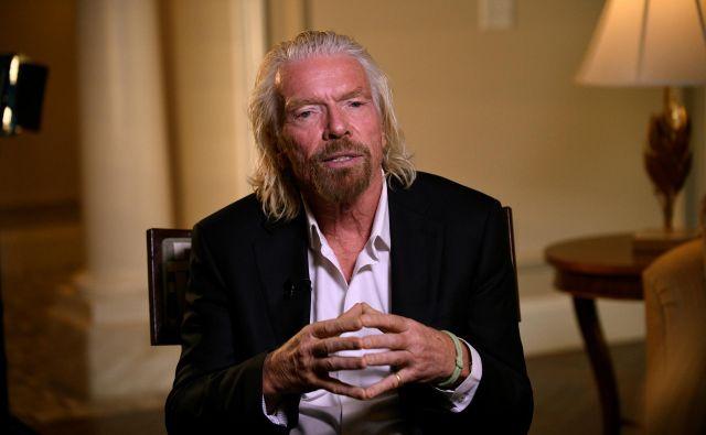 Richard Branson išče finančno injekcijo za Virgin Atlantic.<br /> Foto Reuters
