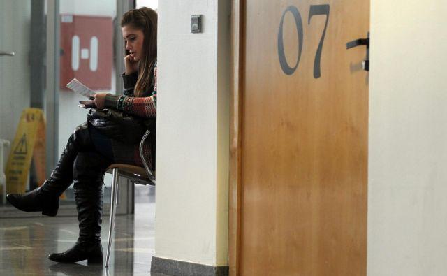 Študentka. Fotografija je simbolična. FOTO: Samec Blaž