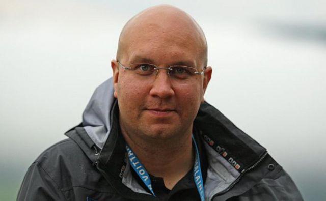 Janne Väätäinen si je zastavil visoke cilje kot novi glavni trener finske reprezentance v smučarskih skokih. FOTO: Twitter