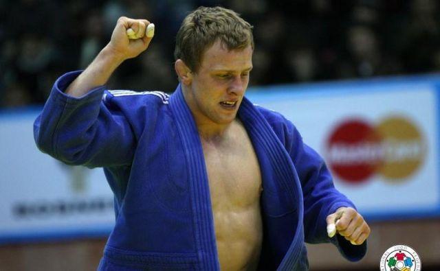 Rok Drakšič se je v zgodovino moškega juda vpisal kot prvi slovenski evropski prvak v tem japonskem olimpijskem borilnem športu. FOTO: IJF