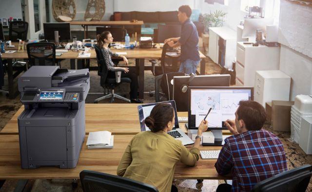Dober nadzor pisarniških opravil znižuje tudi stroške.<br /> FOTO: Kyochera