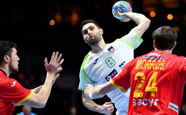 Slovenski rokometaši se bodo z Blažem Jancem na čelu na kvalifikacijskem turnirju pomeriliz Nemci, Švedi in Alžirci. FOTO: Reuters
