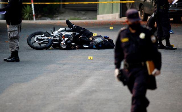 El Salvador je ena najbolj nevarnih držav na svetu. FOTO: Jose Cabezas/Reuters