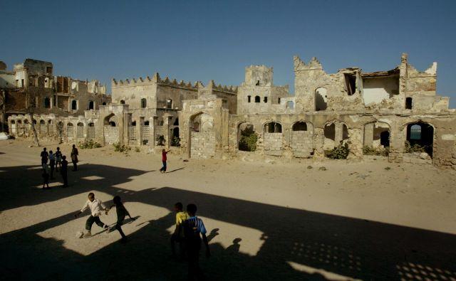 Mogadiš, Somalija. FOTO: Jure Eržen