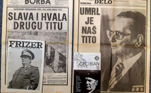 Delo, Borba, Ciciban in Frizer, strokovna revija jugoslovanskih frizerjev, maja 1980. Foto Muzej Tiska