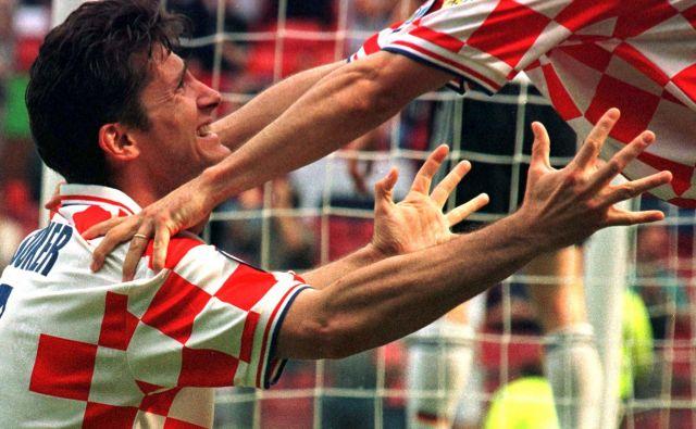 Davor Šuker je vrsto let zabijal gole za hrvaško reprezentanco. FOTO: Reuters