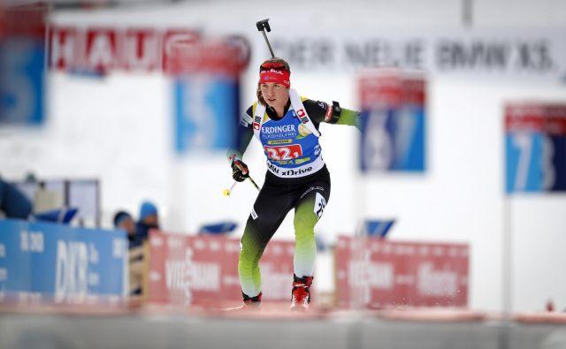 Urška Poje je pri komaj 22 letih končala svojo športno pot, ki je trajala od leta 2014, ko je prvič tekmovala v svetovnem pokalu. FOTO: Matej Družnik/Delo