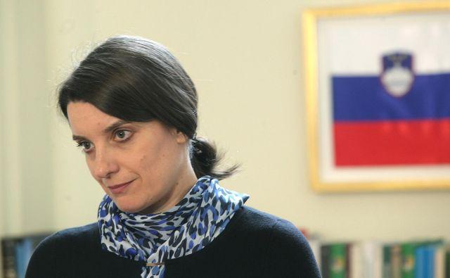 Ministrica Simona Kustec napoveduje sproščanje ukrepov v športu. FOTO: Mavric Pivk