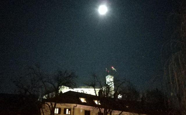 Preložena marčna 12. seja mestnega sveta je bila na Ljubljanskem gradu. FOTO: Aleš Stergar/Delo