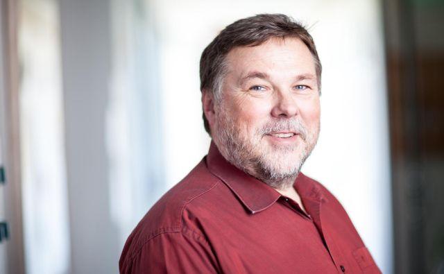 Prof. dr. Leon Cizelj je vodja odseka za reaktorsko tehniko na Institutu Jožef Stefan. Foto Osebni arhiv