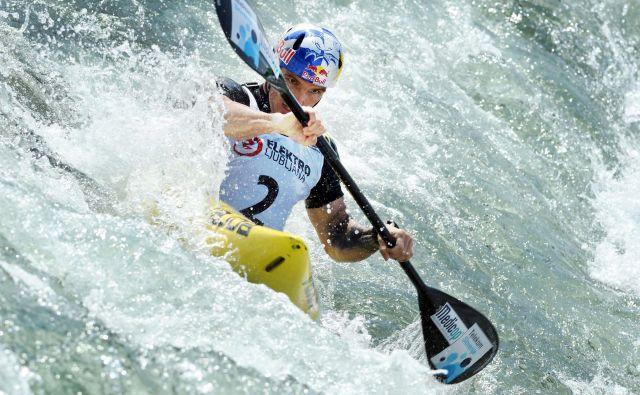Peter Kauzer bo moral potrpeti še eno leto na obrambo olimpijskega srebra iz Ria. FOTO: Matej Družnik