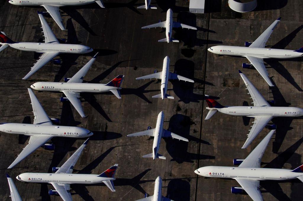 FOTO:Letalska industrija, tudi Fraport Slovenija, išče državno pomoč