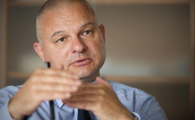 Darko Muženič, direktor Nacionalnega preiskovalnega urada. FOTO: Jure Eržen/Delo