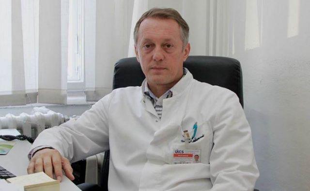 Slavljencu Jusufu Šabanoviću grozi suspenz z mesta vodje oddelka za abdominalno kirurgijo v kliničnem centru v Sarajevu. FOTO: Patria