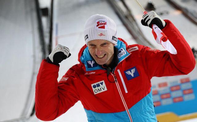 Po dveh sezonah pri ženskah se v moški svet smučarskih skokov vrača nekdanji prvi mož avstrisjek reprezentance Heinz Kuttin, ki bo v naslednji sezoni vodil Francoze. FOTO: Reuters