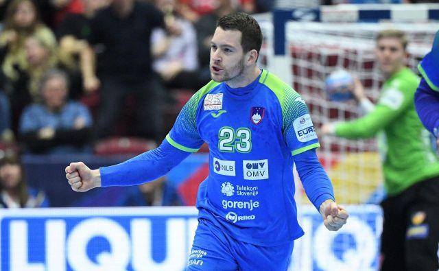 Miha Zarabec je eden ključnih mož v slovenski reprezentanci. FOTO: Reuters