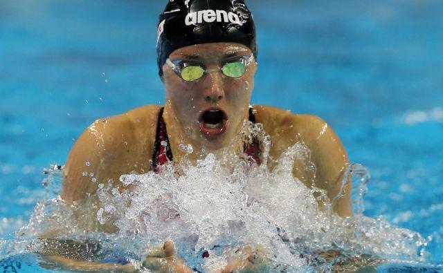 Katinka Hosszu, najboljša plavalka na svetu zadnjih let, bo pred OI vendarle nastopila na prvenstvu stare celine v domovini. FOTO: AFP