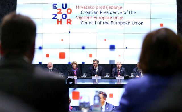 Čas koronavirusa bo za politiko EU do regije še posebno težaven.Foto: Antonio Bronic/Reuters
