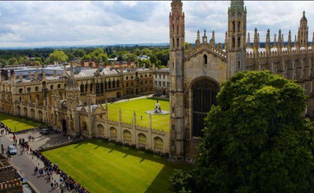 Kraljevi kolidž v Cambridgeu, kjer sta študirala tako Turing kot Gormley. Foto Reuters