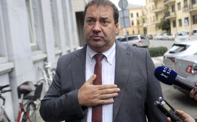 Marko Bandelli, poslanec SAB, se bo moral opravičiti ali pa plačati odškodnino zaradi svoje izjave. FOTO: Roman Šipić/Delo
