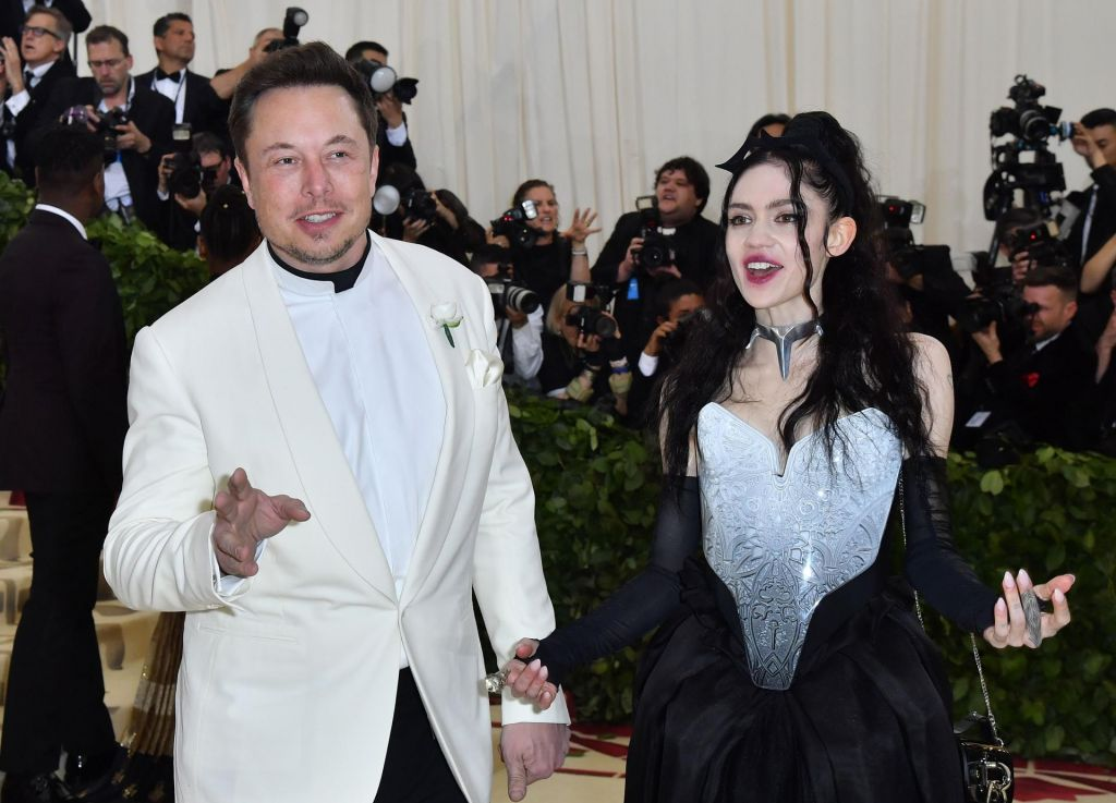 Elon Musk in zvezdnica Grimes dobila sina
