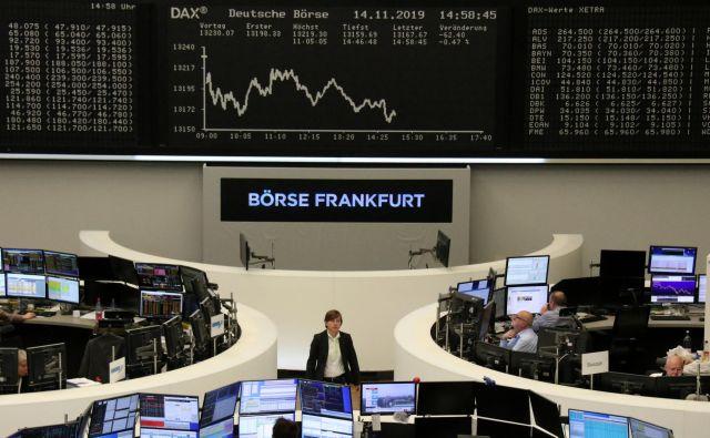 Evropske delnice so dno dosegle sredi marca. Zdaj so v povprečju že petino više. FOTO: Reuters