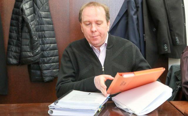 Oproščeni Ivan Radan sodbe za zdaj noče komentirati. FOTO: Marko Feist