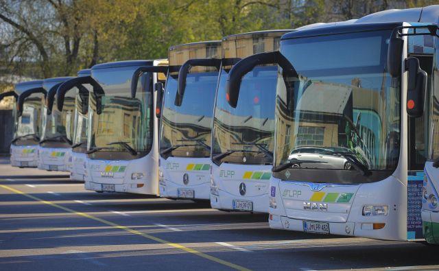 Javni potniški promet bo spet zaživel v ponedeljek. FOTO: Jože Suhadolnik/Delo