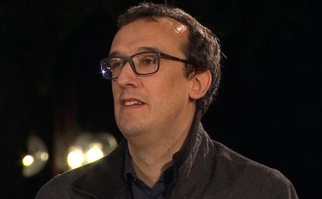 Ivan Gale je razkril pritiske vidnih politikov iz vladajoče koalicije pri nabavi zaščitne opreme. FOTO: RTV Slovenija
