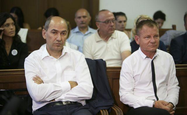 Janez Janša se je zaradi žalitev na sodišču znašel že večkrat. FOTO: Jure Eržen