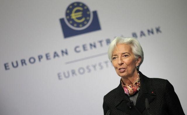 Christine Lagarde, predsednico ECB, je odločitev nemških sodnikov postavila v težak položaj. Foto: AFP
