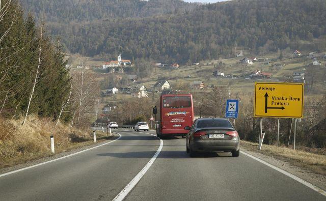 Civilne pobude zagovarjajo prenovo ceste med Arjo vasjo in Velenjem. FOTO: Leon Vidic