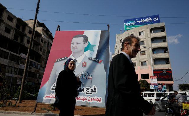 Asadova »poslovna neposlušnost« naj bi bila glavni vzrok za serijo sirskemu predsedniku vse prej kot naklonjenih člankov v ruskih medijih.<br /> Foto Reuters